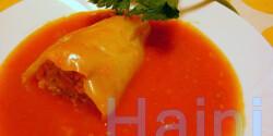 Töltött paprika Jahin konyhájából
