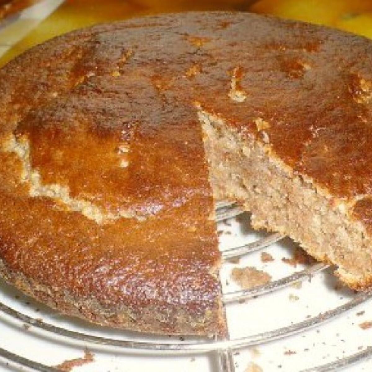 Ezen a képen: Diós kevert sütemény 20 perc alatt