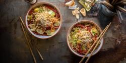 Kínai büfés pirított tészta