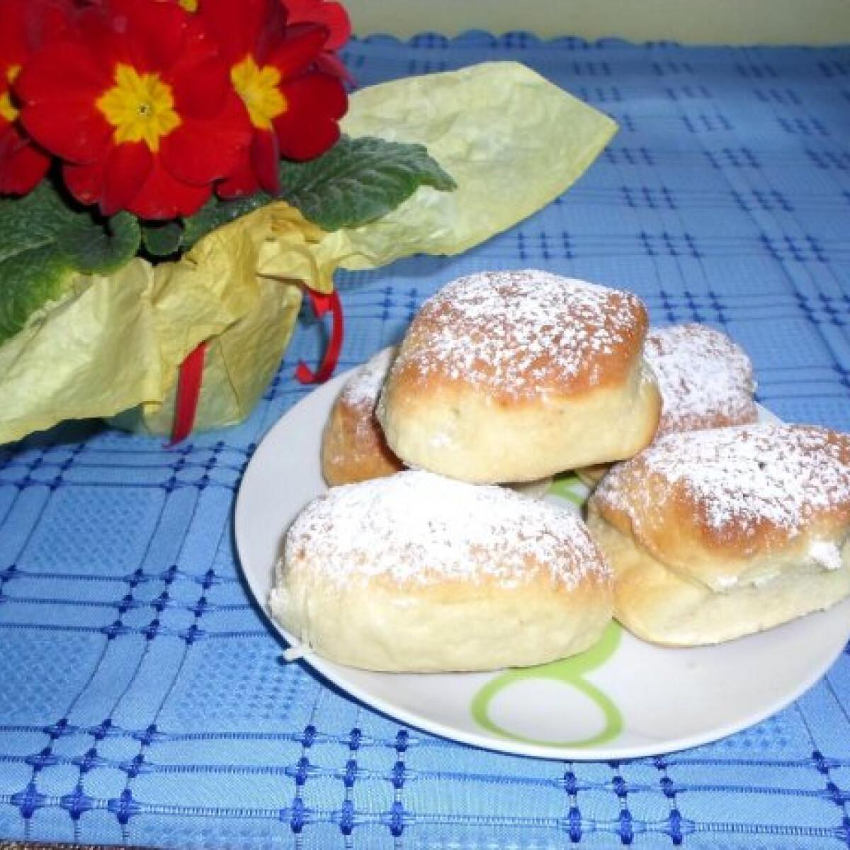Ezen a képen: Sütőben sült fánk Csilla konyhájából