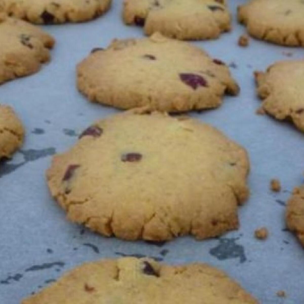 Áfonyás-mandulás keksz