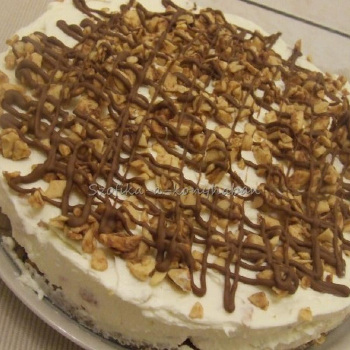 Ezen a képen: Tejcsokis-törökmézes cheesecake
