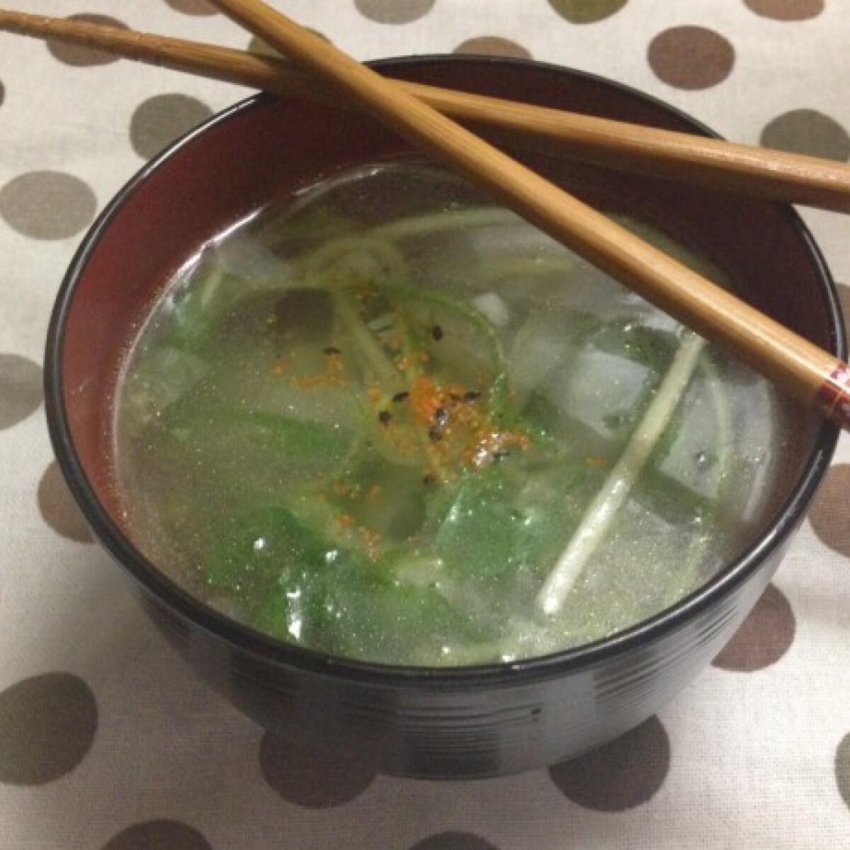 Ezen a képen: Gyors kínai leves