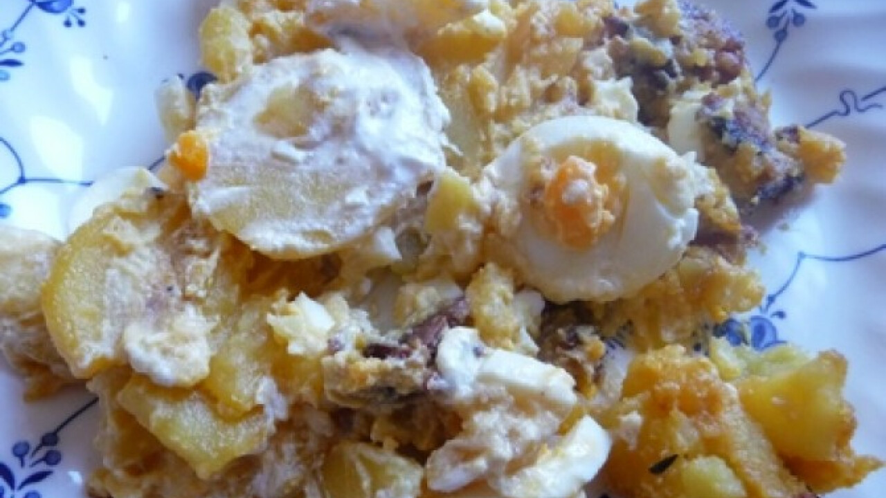 Tojásos krumpli