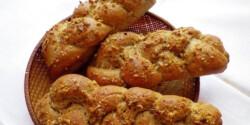 Fonott diós-rozsos kenyérkék
