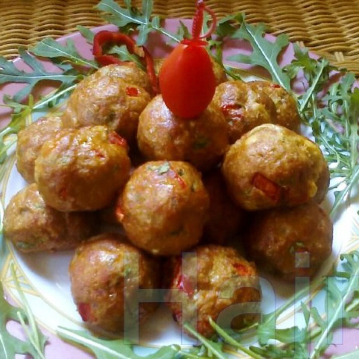 Tavaszi húsgolyók Jahin konyhájából