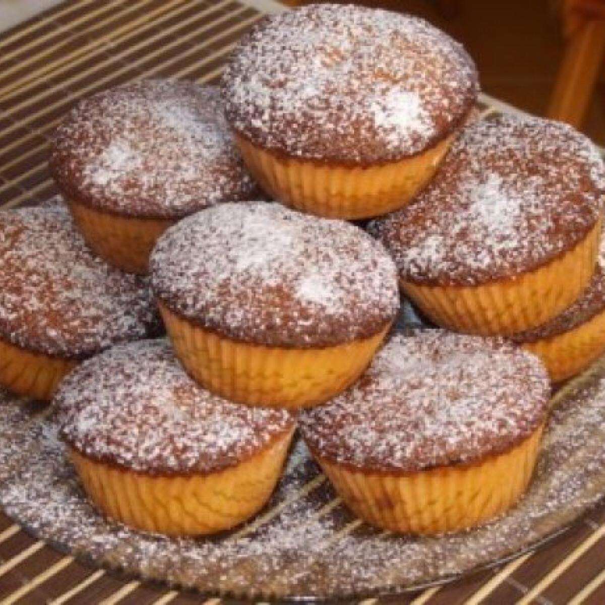 Pudingal töltött muffin 5.