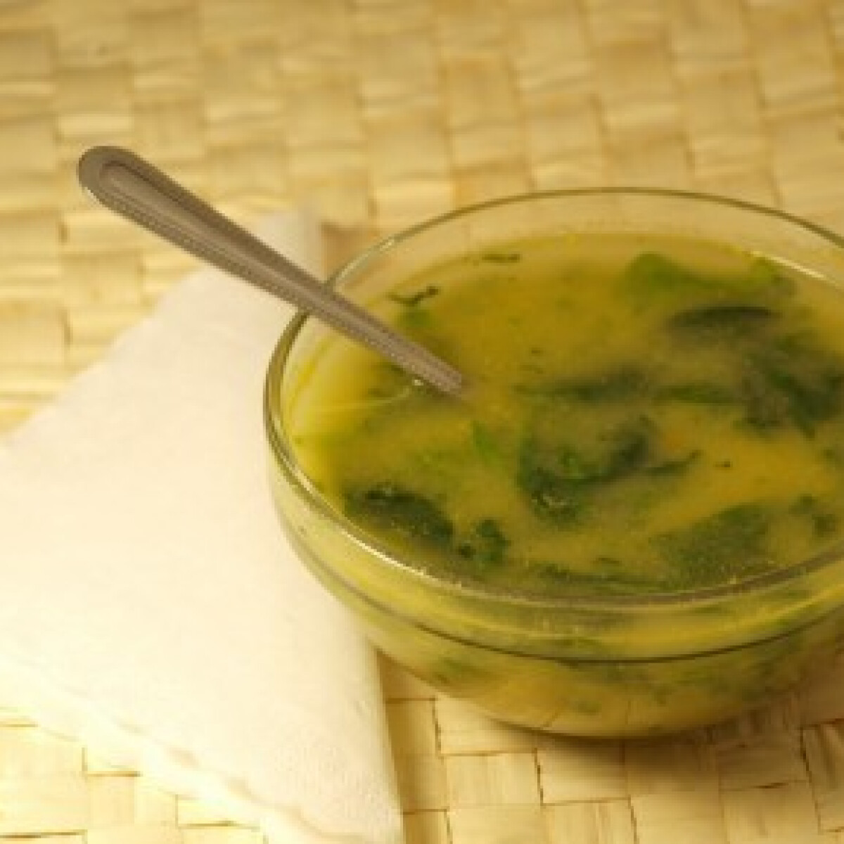 Portugál spenót leves