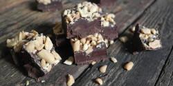 Duplán mogyorós csokis fudge