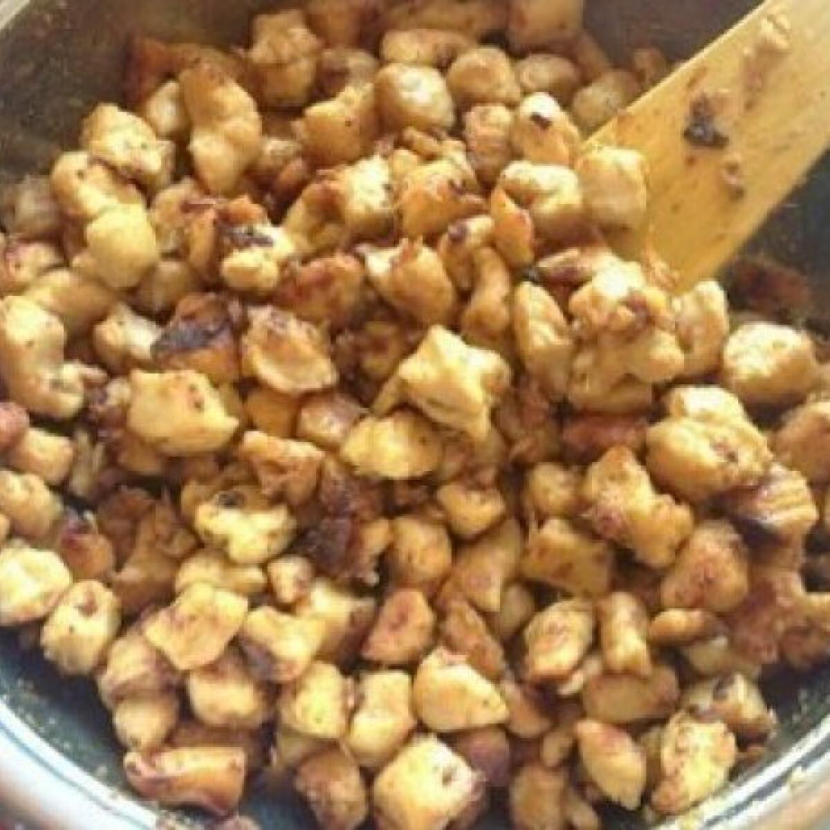 Ezen a képen: Currys - mézes csirkemellkockák