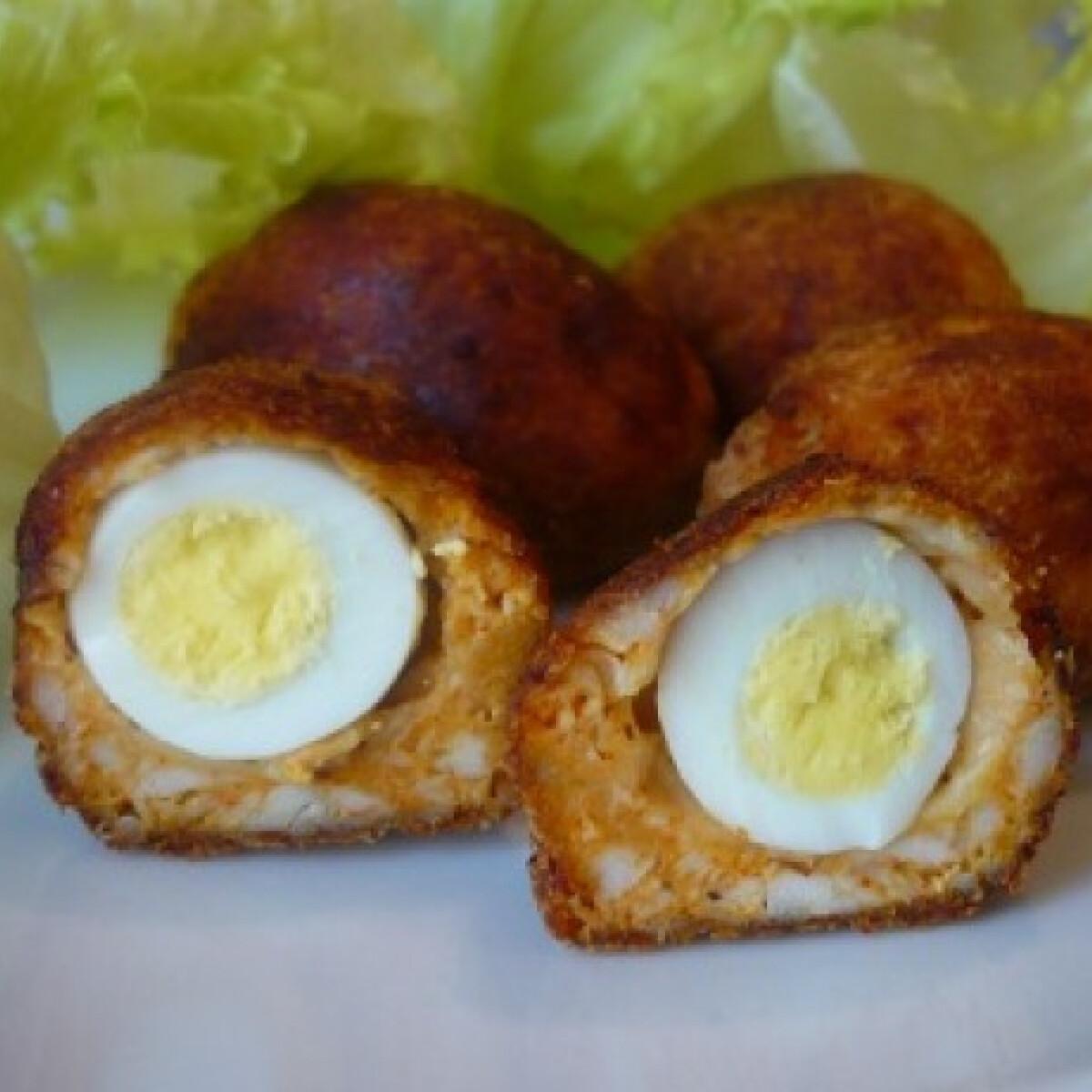 Mini skót tojások csirkemellből