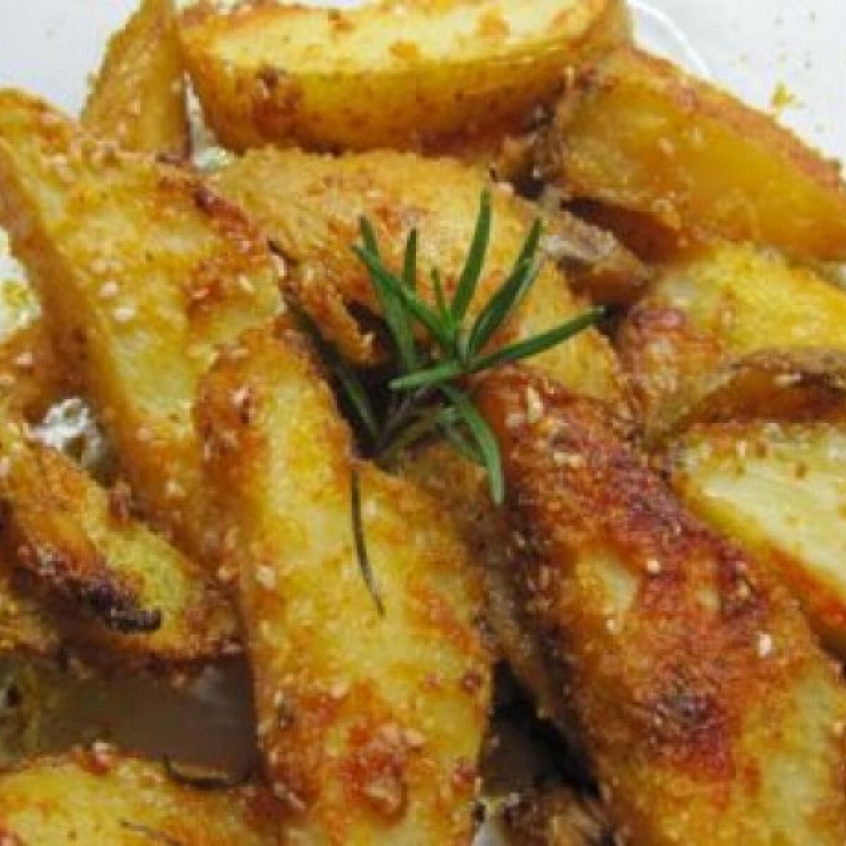 Ezen a képen: Montenegrói tepsis krumpli