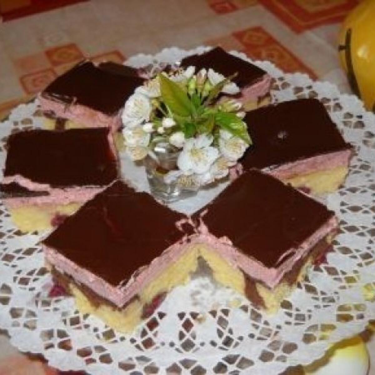 Ezen a képen: Kakaós-meggyes süti 2.
