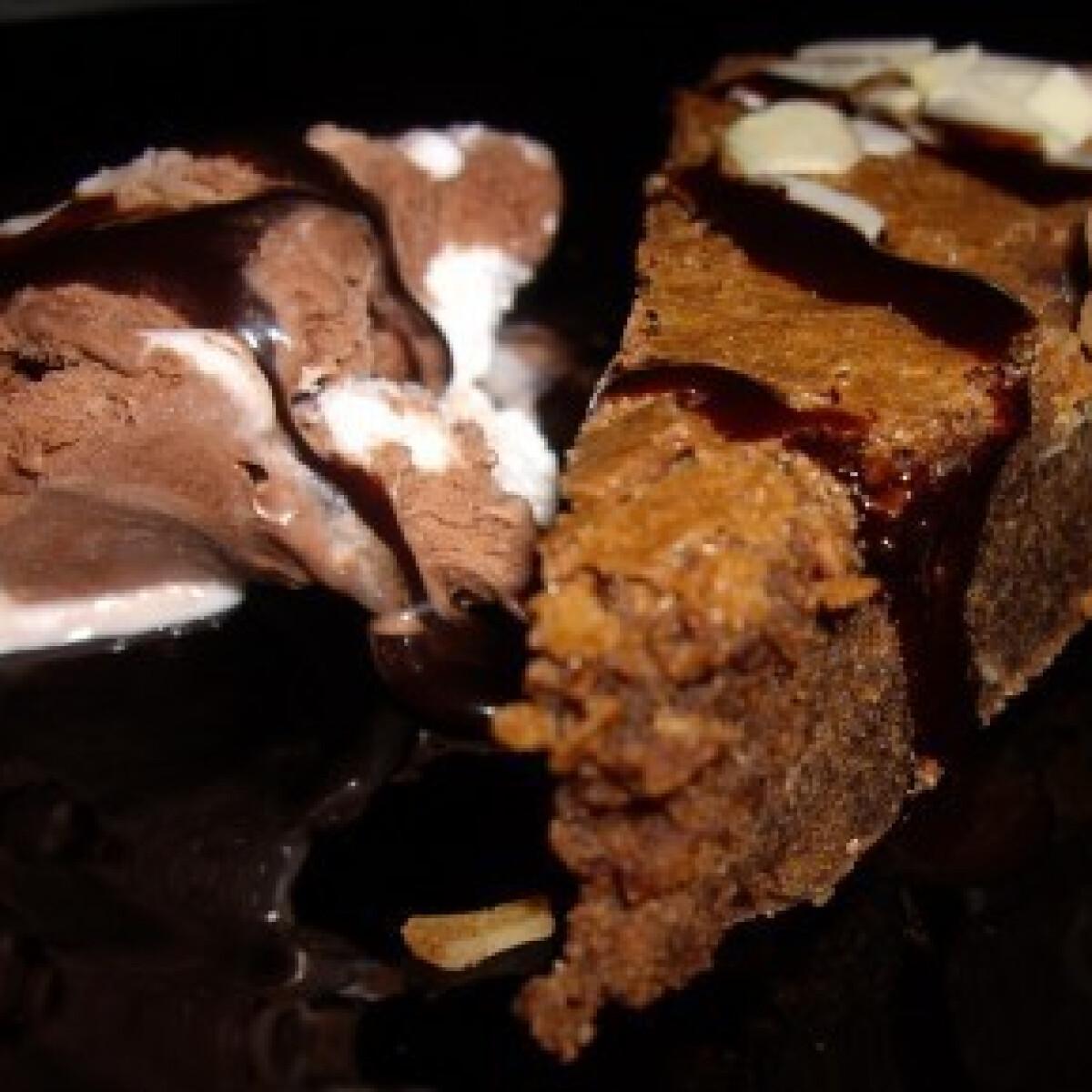 Ezen a képen: Francia csokoládétorta 3.