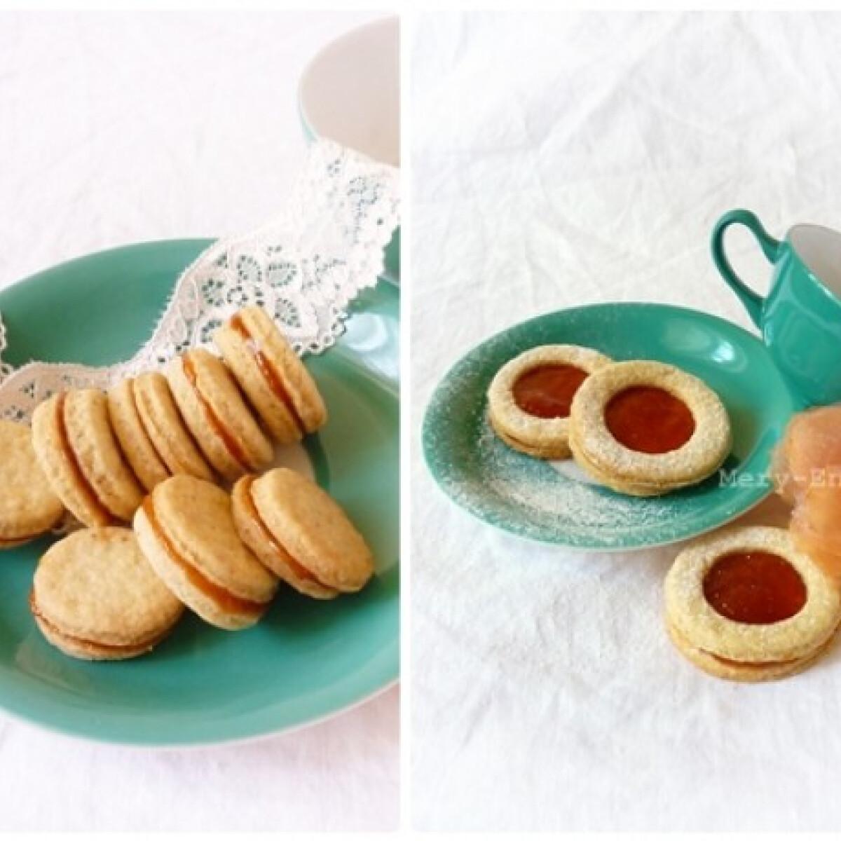 Ezen a képen: Sárgabarackos-diós keksz