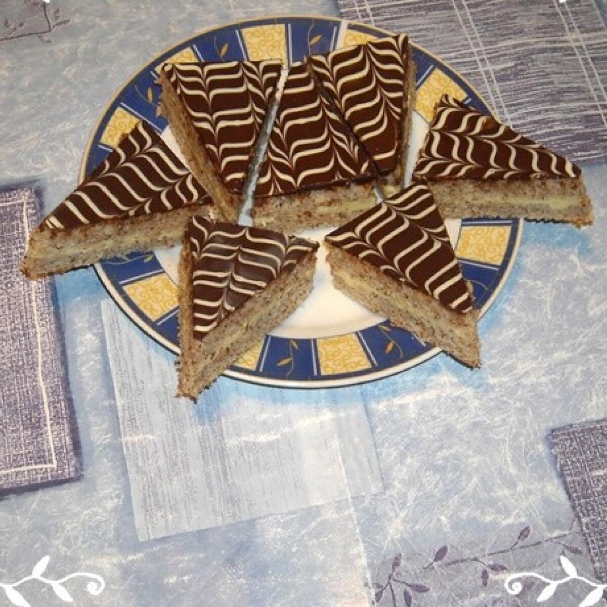 Ezen a képen: Eszterházy szelet Nikóka konyhájából
