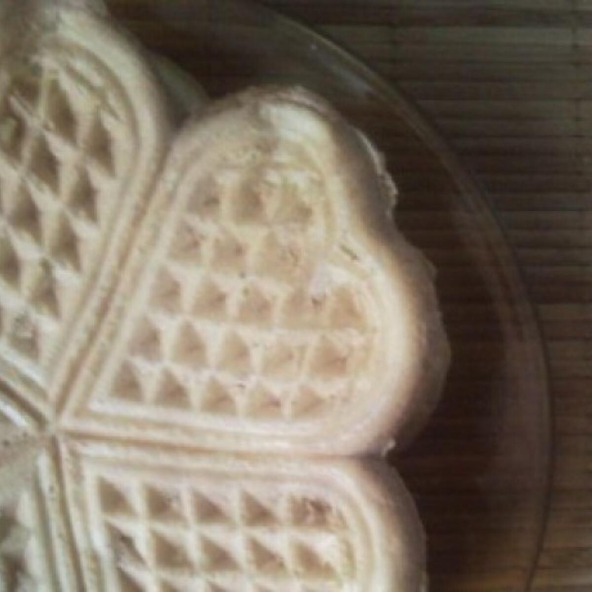 Ezen a képen: Tojás- és tejmentes gofri
