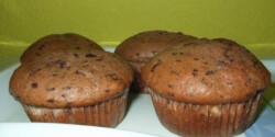 Csokis-túrós muffin