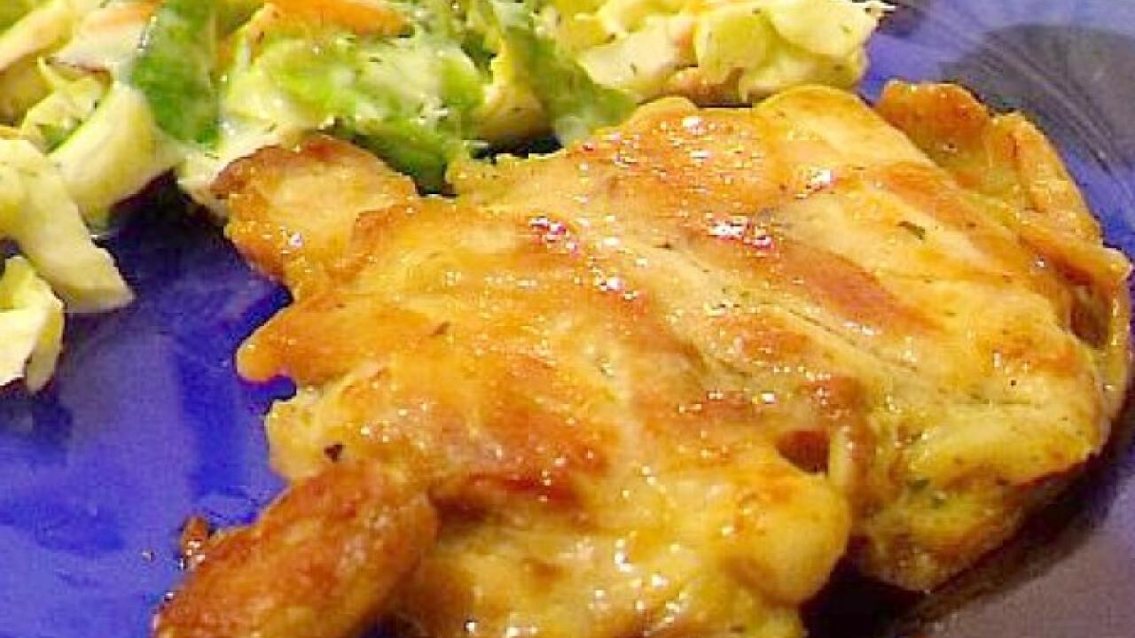 Vasalt csirke egyszerűen