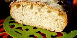 Élesztő nélküli kovászos kenyér
