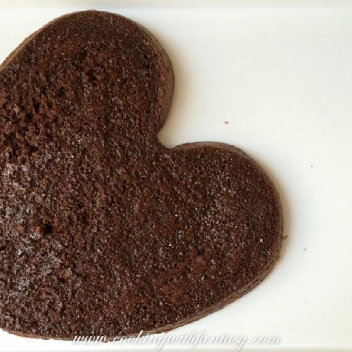 Ezen a képen: Zabpehelylisztes brownie