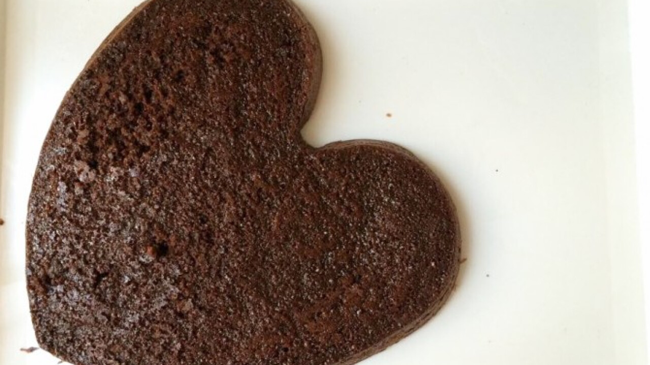 Zabpehelylisztes brownie