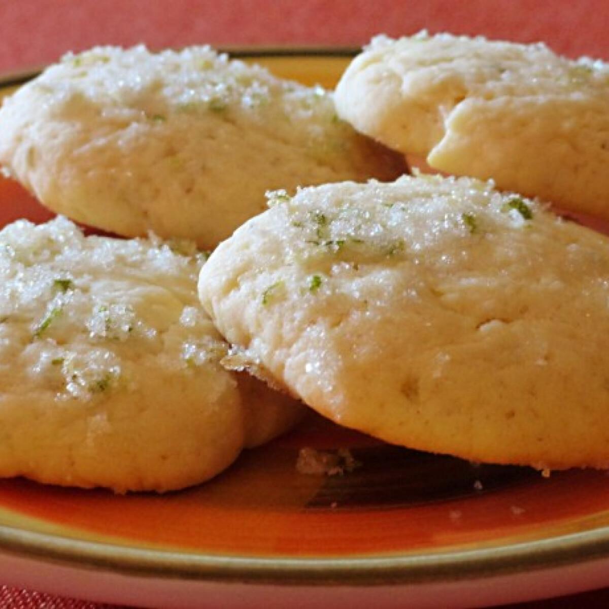 Ezen a képen: Lime cookie