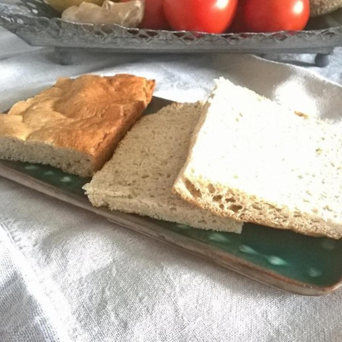 Amarántlisztes szendvicskenyér
