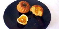 Narancsos muffin Évi néni konyhájából