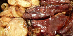 Barbecue oldalas A'la Bella konyhájából