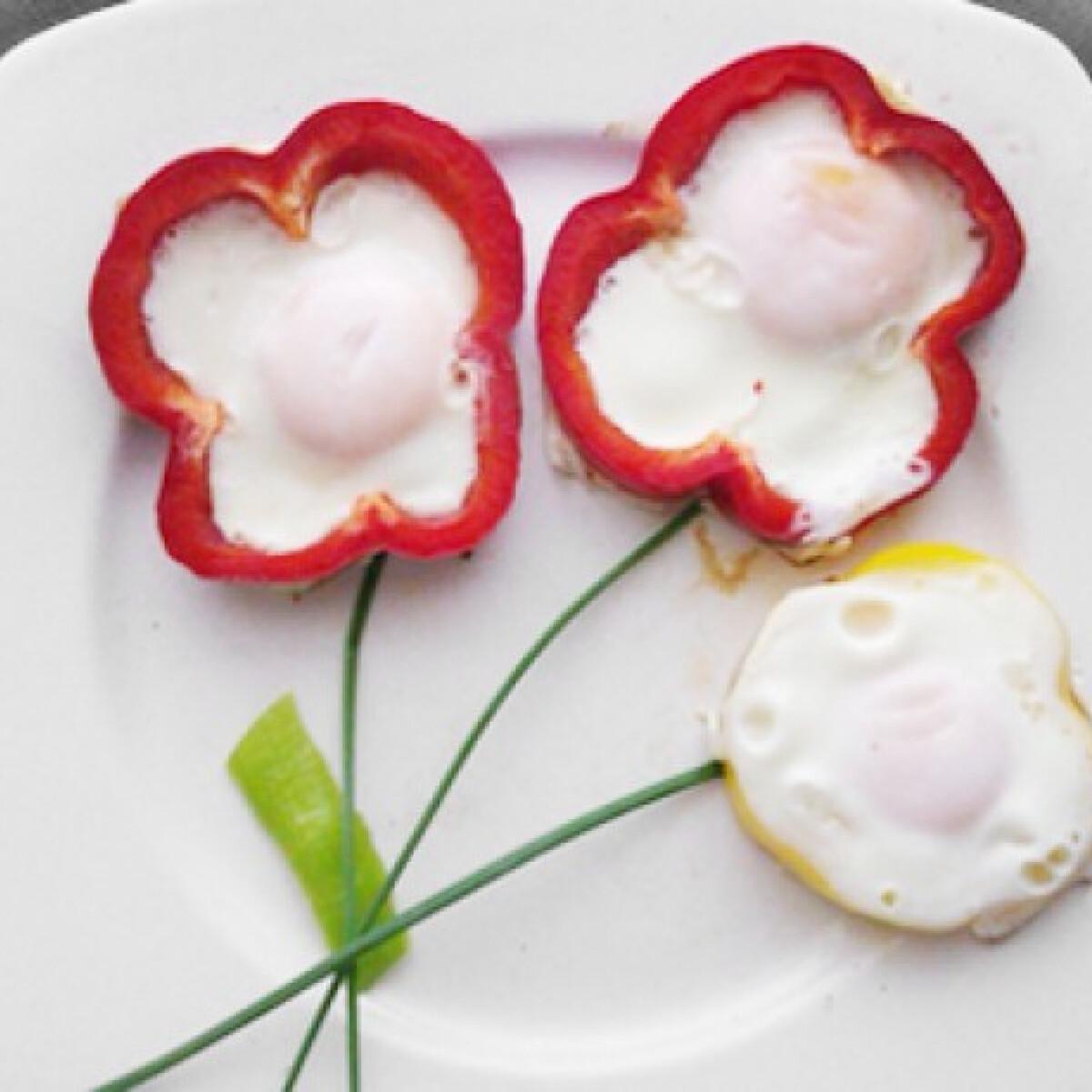 Ezen a képen: Tükörtojás virágok