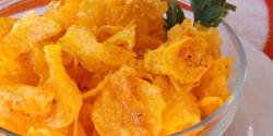 Fűszeres édesburgonya chips