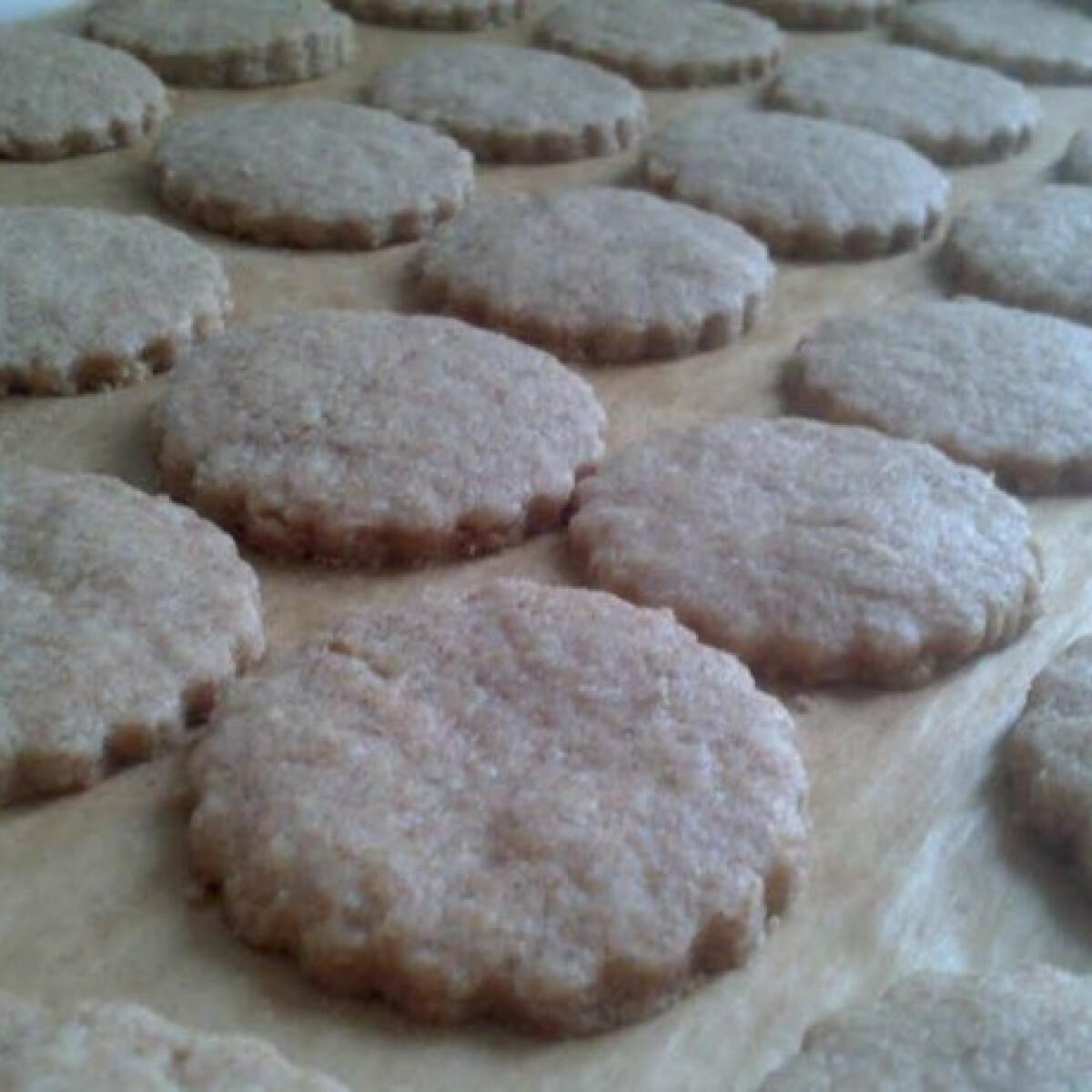 Citromos vaníliás keksz