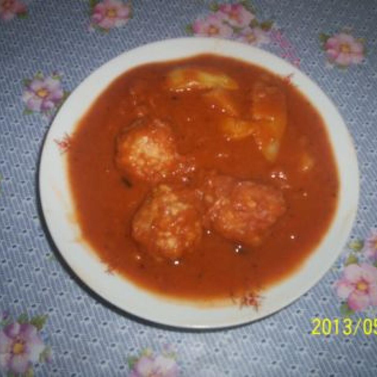 Ezen a képen: Töltött paprika Gabimami konyhájából
