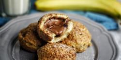Nutellás-banános puffancs
