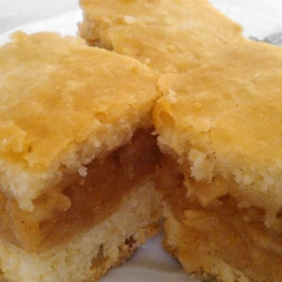 Ezen a képen: Omlós almás Brigi konyhájából