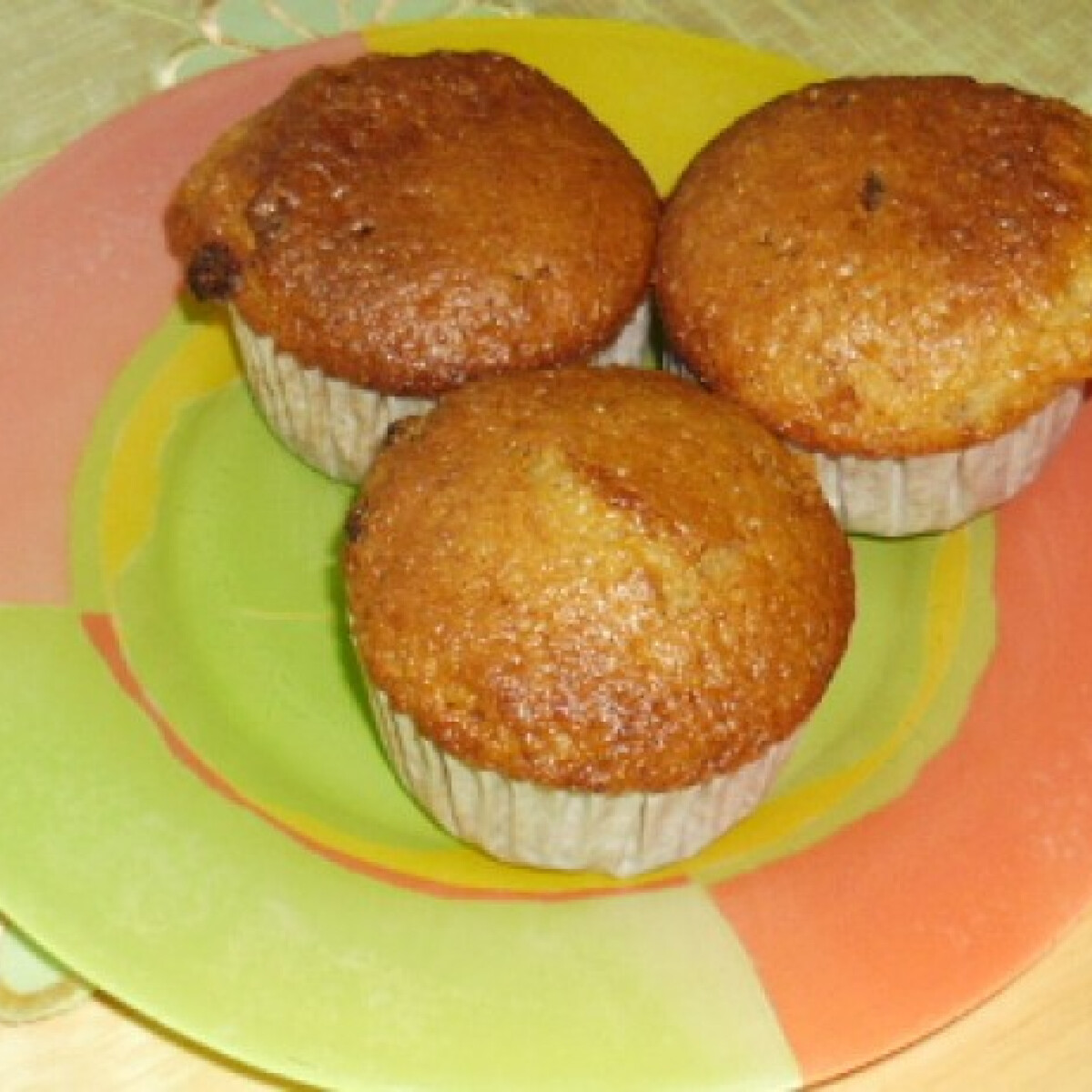 Epres-kókuszos muffin