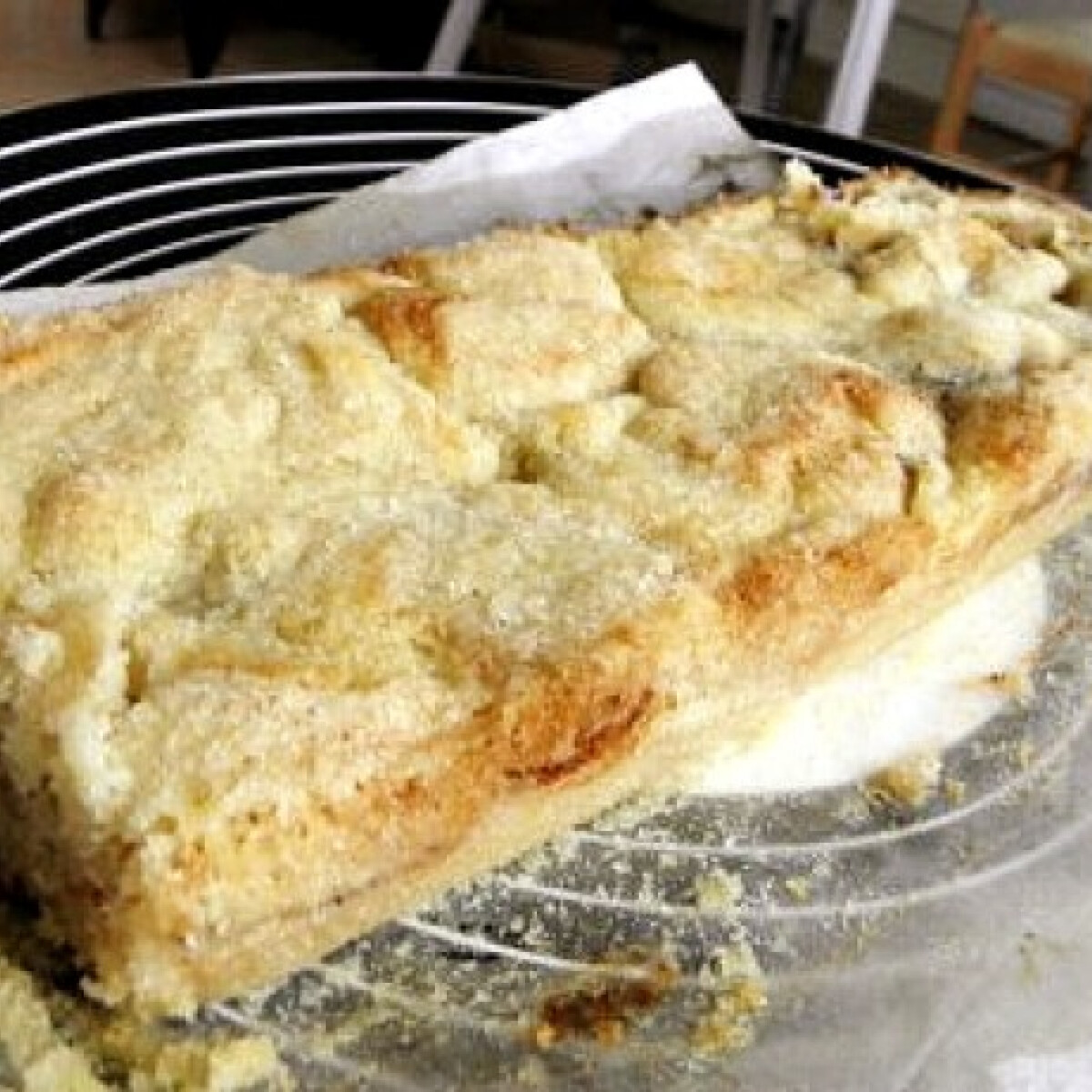 Grízes almás pite szuper gyorsan