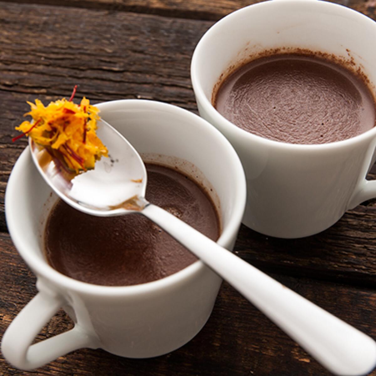 Ezen a képen: Lélekmelegítő forró csoki