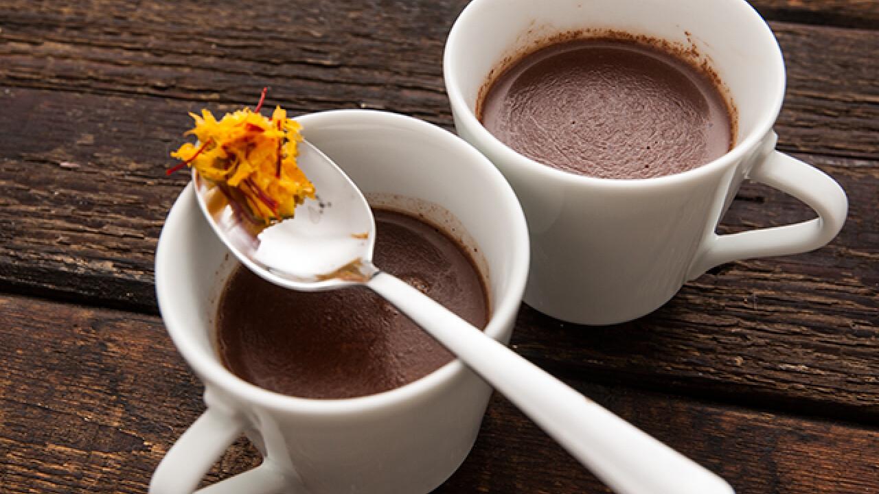 Lélekmelegítő forró csoki