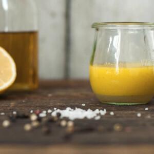 Vinaigrette citrommal