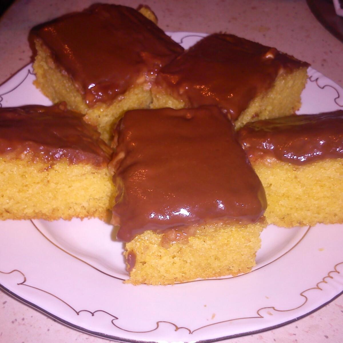 Ezen a képen: Csokis-almás süti