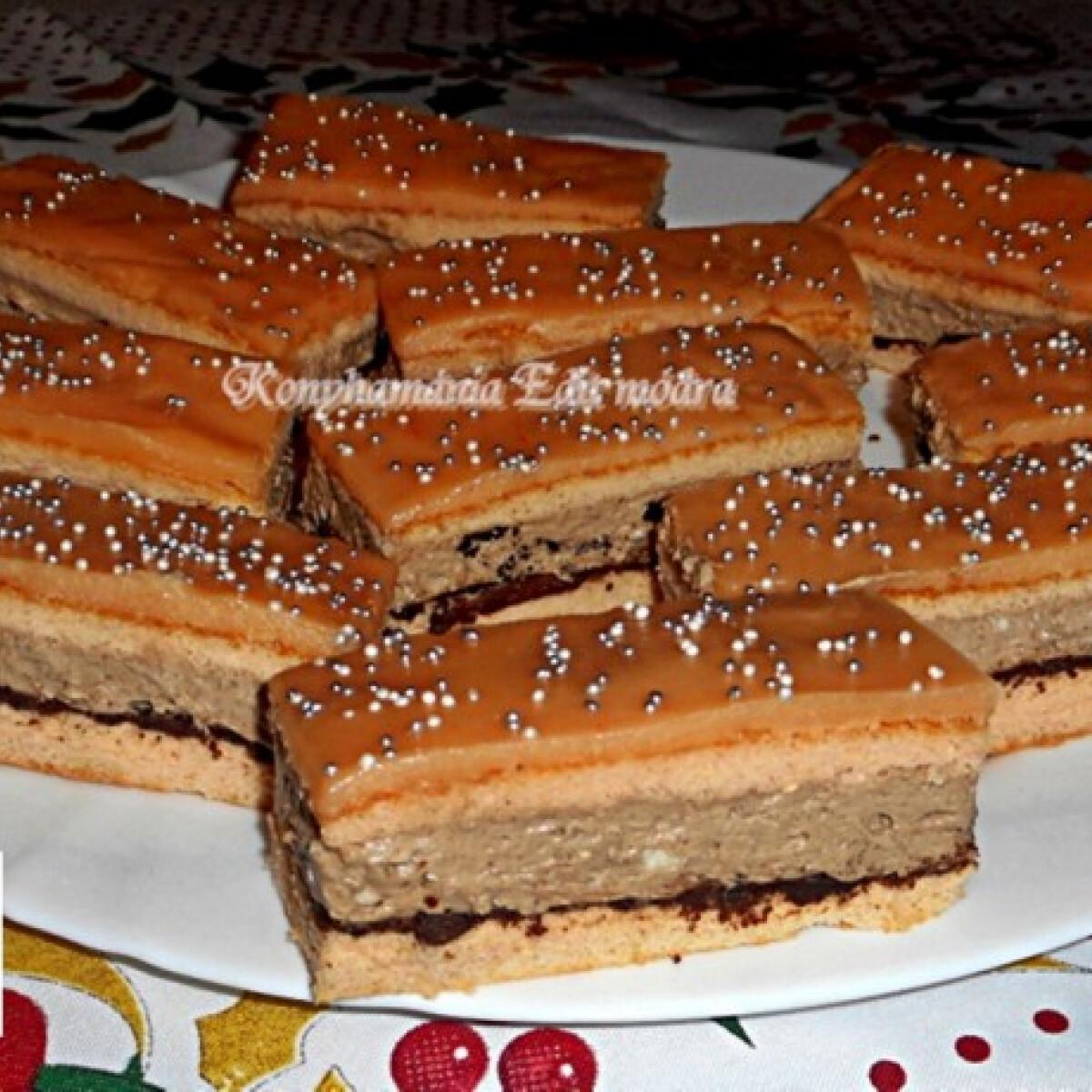 Rumpuncsos szelet oreo kekszes krémmel