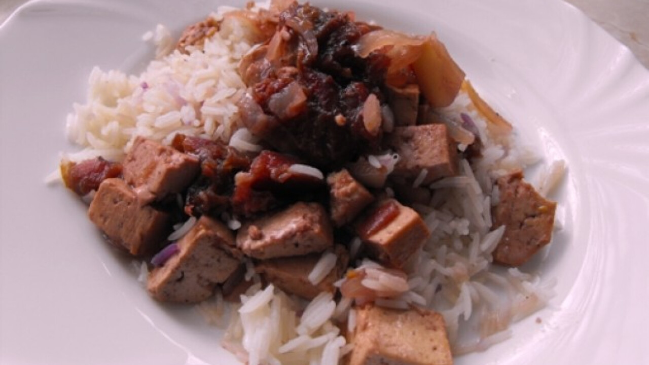 Tofu szilvaraguval