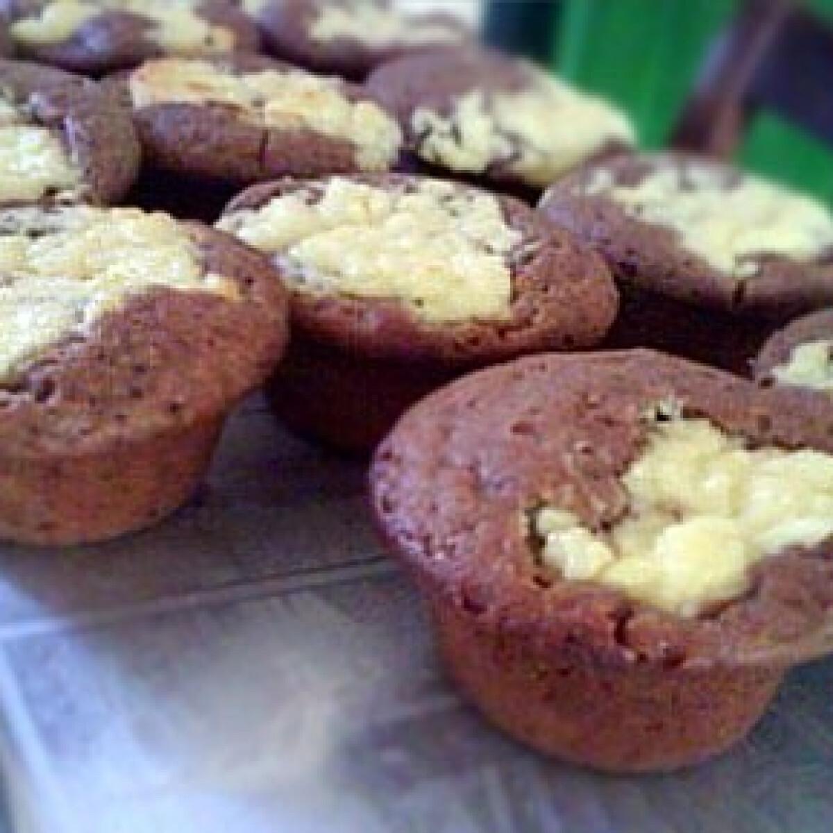 Ezen a képen: Búvártúrós muffin