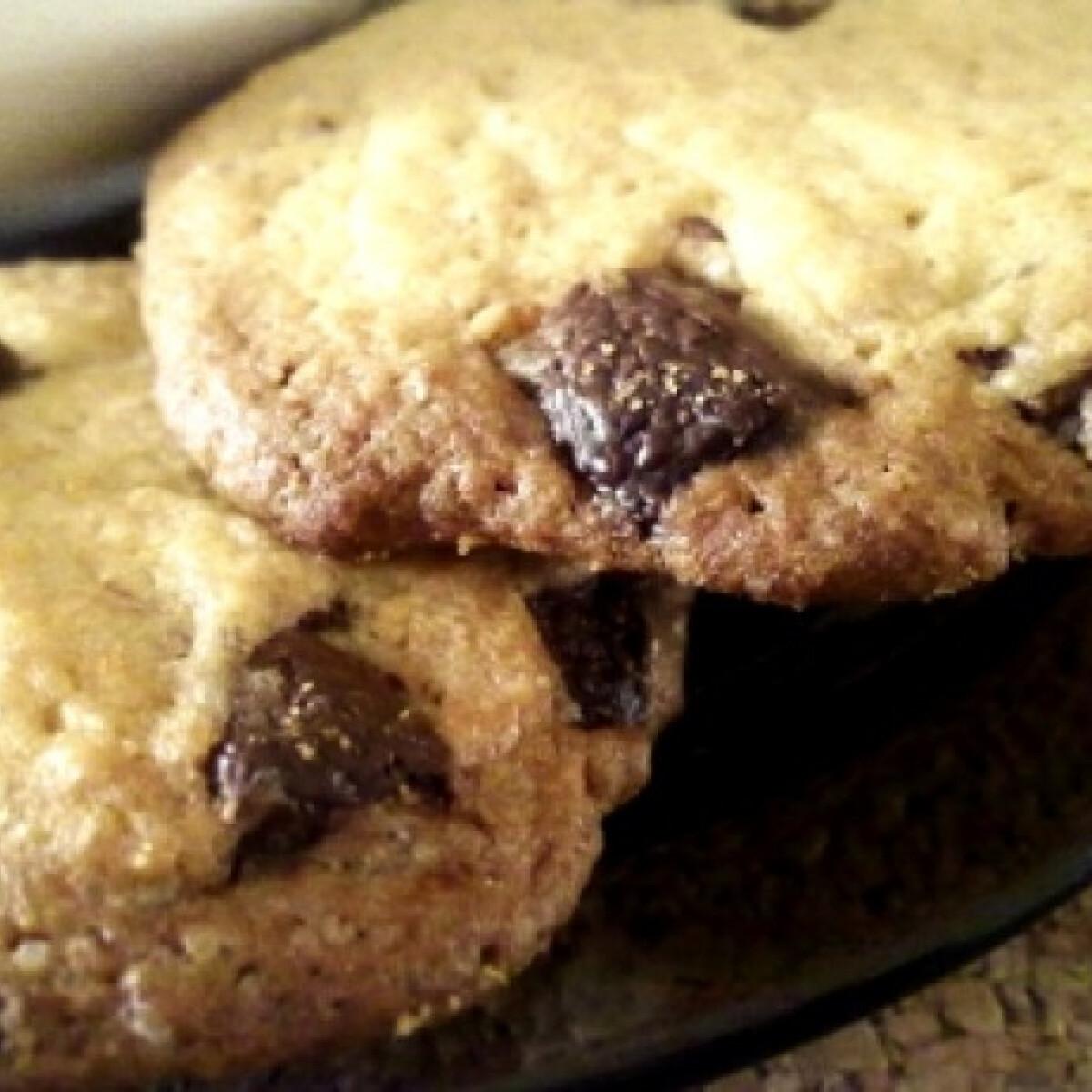 Ezen a képen: Amerikai csokis cookie Sophia konyhájából