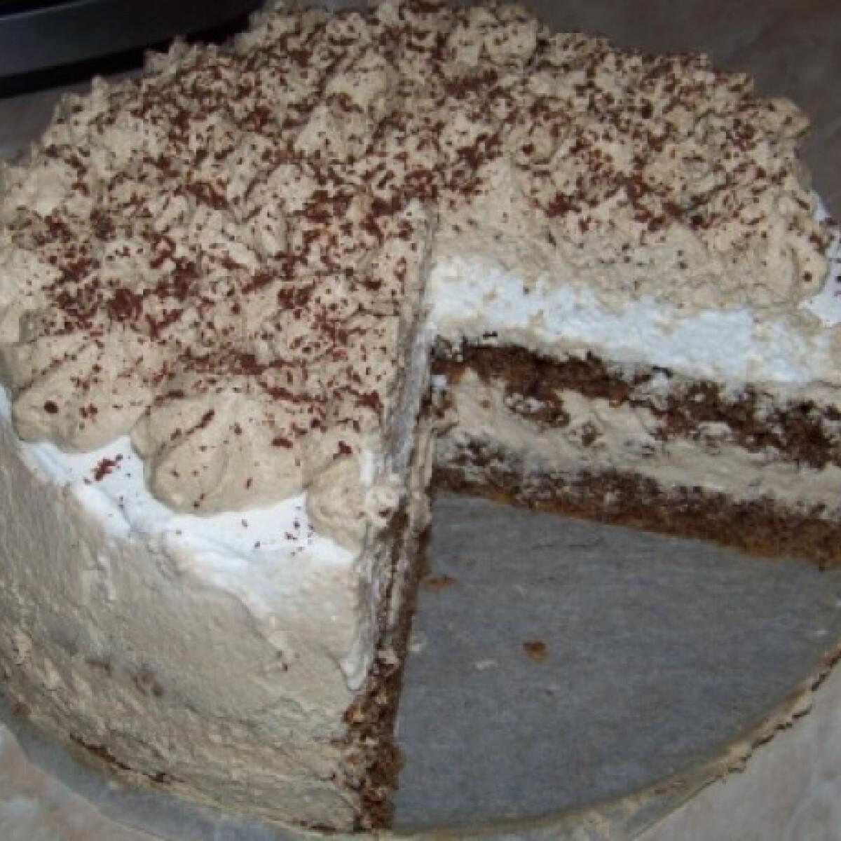 Ezen a képen: Cappuccino torta