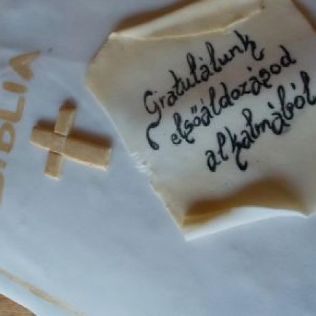Ezen a képen: Nutellás-fehér csokis torta