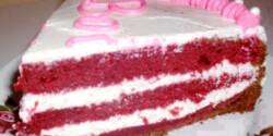 Bársony torta Debmo konyhájából