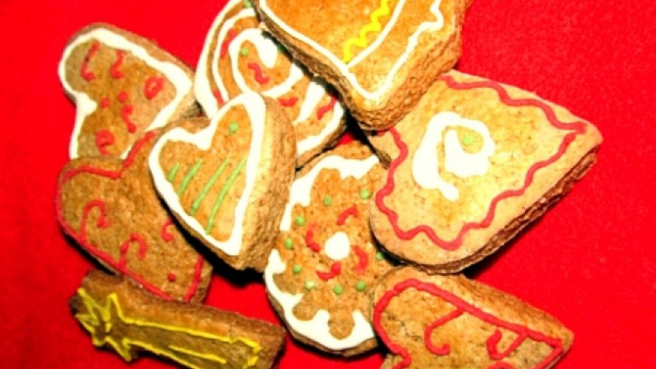 Karácsonyi mézeskalács ahogy Viki készíti